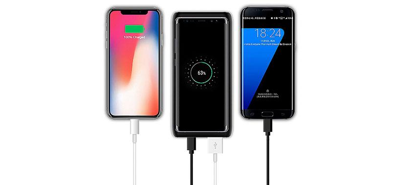 امکان شارژ سه گوشی همزمان با پاوربانک g-case
