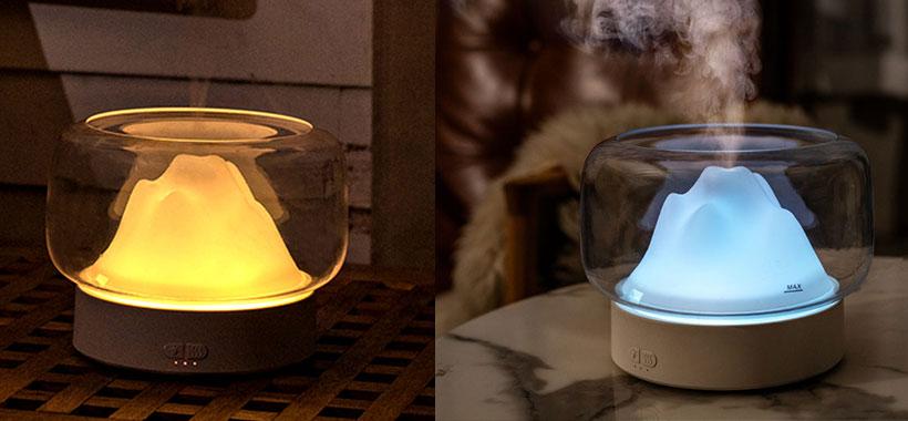 دستگاه بخور LED night light aromatherapy