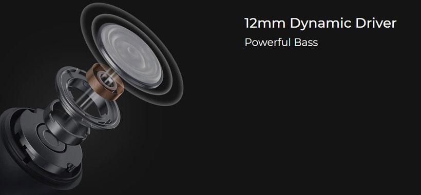 Haylou GT6 12mm Dynamic Driver
