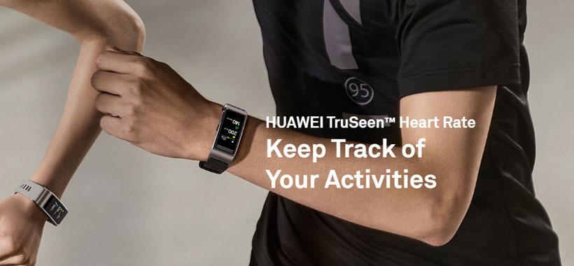 بررسی فعالیت ها با ساعت هوشمند هواوی Huawei TalkBand B5
