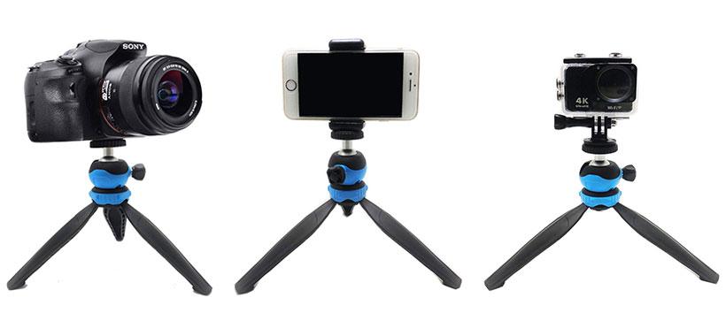 سه پایه دوربین و گوشی Jmary MT-20