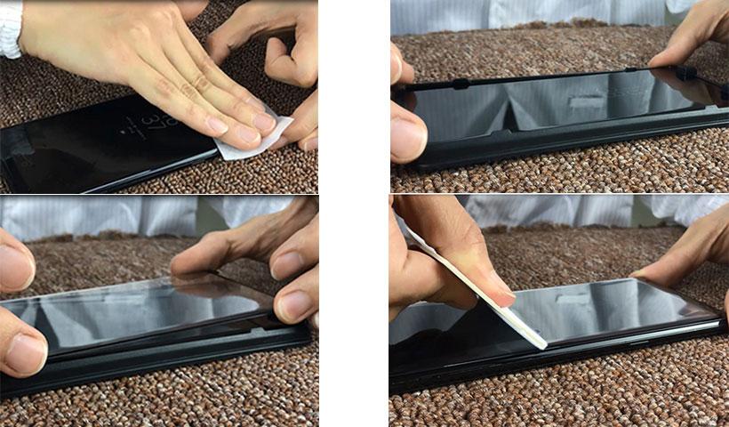 گلس و قاب نصب لیتو Samsung Note 8