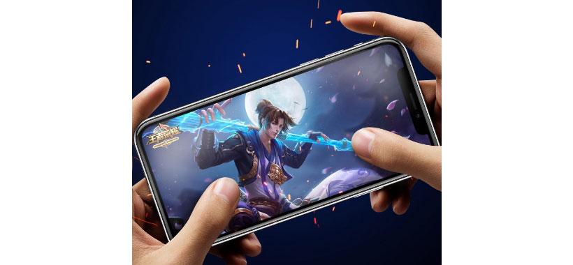 محافظ صفحه نمایش شیشه ای LITO D+ game player با پوشش کامل iPhone 11 pro