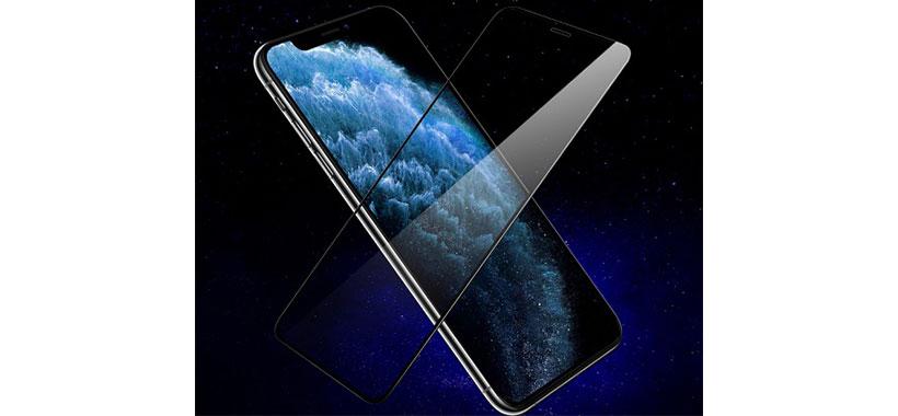 محافظ صفحه نمایش شیشه ای LITO با پوشش کامل iPhone 11 Pro Max