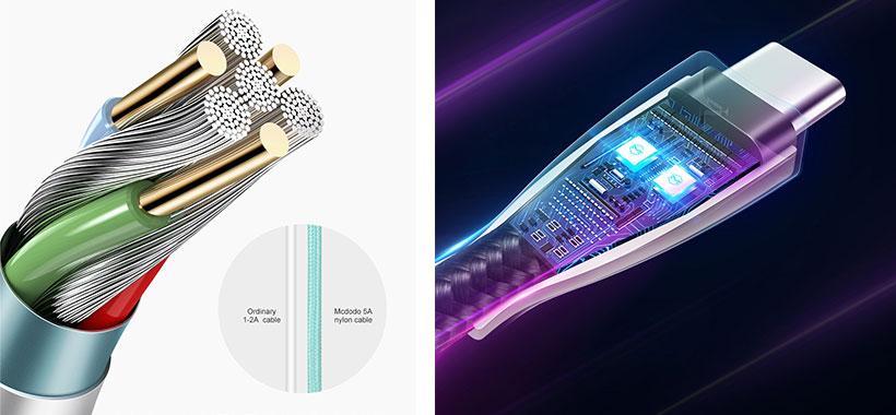 کابل شارژ سریع تایپ سی Mcdodo CA-5423 Super Charge