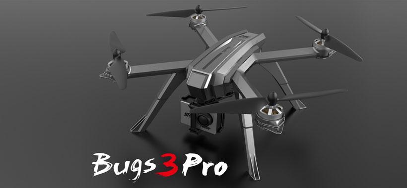کوادکوپتر MJX Bugs 3 مجهز به دوربین C6000