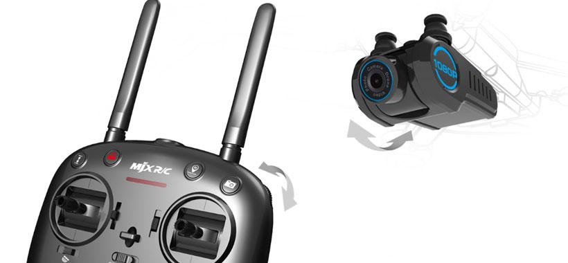 دوربین و کنترلر پیشرفته MJX Bugs 5W