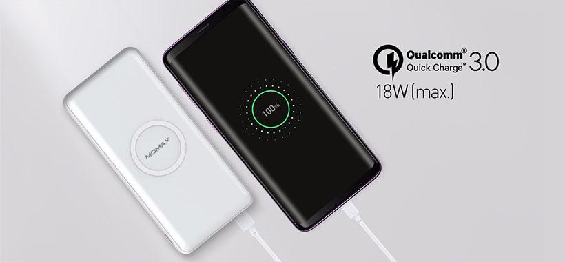 پاوربانک شارژ سریع Qualcomm Quick Charge 3.0