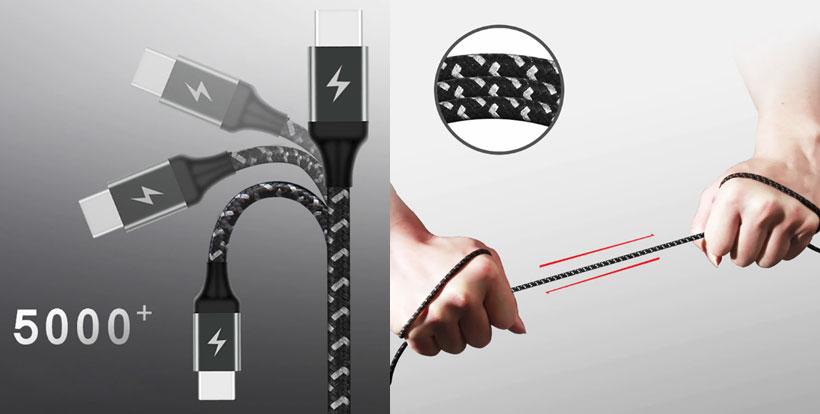 کابل شارژ سریع تایپ سی