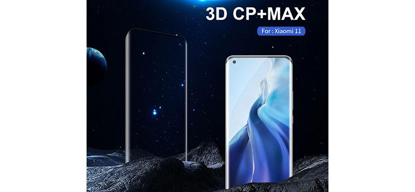 گلس شیائومی می11 مدل Nillkin 3D CP+ Max