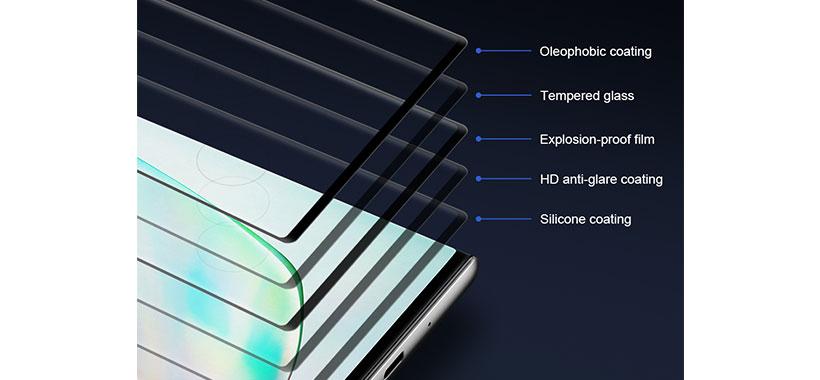 گلس سامسونگ Note 20 Ultra مدل Nillkin 3D CP+ Max