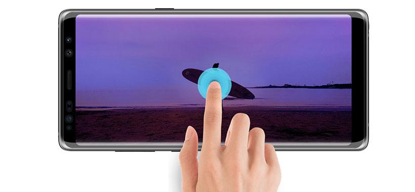 محافظ صفحه نمایش Nillkin 3D DS+MAX سامسونگ Note 8