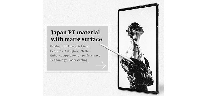 محافظ صفحه کاغذ مانند Nillkin Antiglare AG برای iPad Pro 11 2018/2020/iPad Air 10.9 2020/iPad Air 4