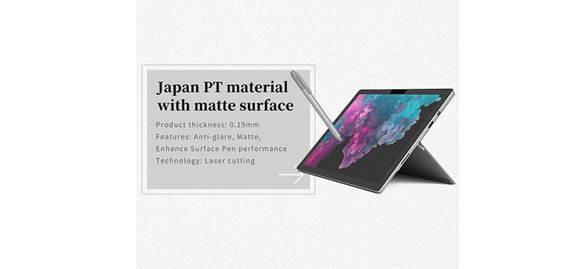 محافظ صفحه کاغذ مانند Nillkin Antiglare AG برای Microsoft Surface Pro 6/5