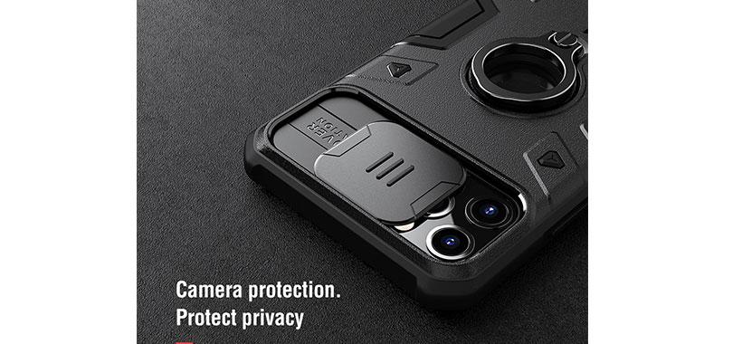 قاب محافظ iphone 11 Pro Max مدل Nillkin CamShield Armor