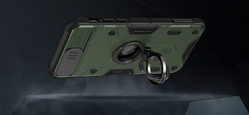 قاب محافظ iphone 7/8/SE 2020 مدل Nillkin CamShield Armor