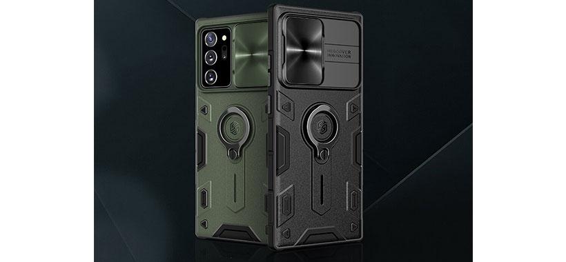 قاب محافظ Note 20 Ultra مدل Nillkin CamShield Armor