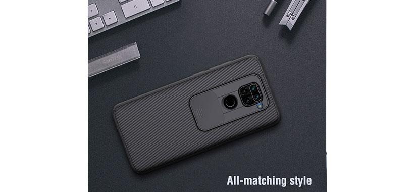 قاب محافظ Xiaomi Redmi Note 9 مدل Nillkin CamShield