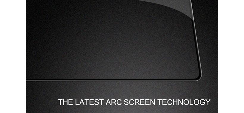 پوشش تمام صفحه HD با برش دقیق و زاویه دار لبه ها