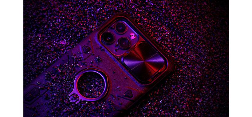 پوشش فلزی دوربین آیفون نیلکین