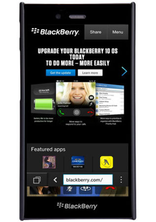قاب محافظ نیلکین بلک بری Nillkin Frosted Shield Case BlackBerry Z3
