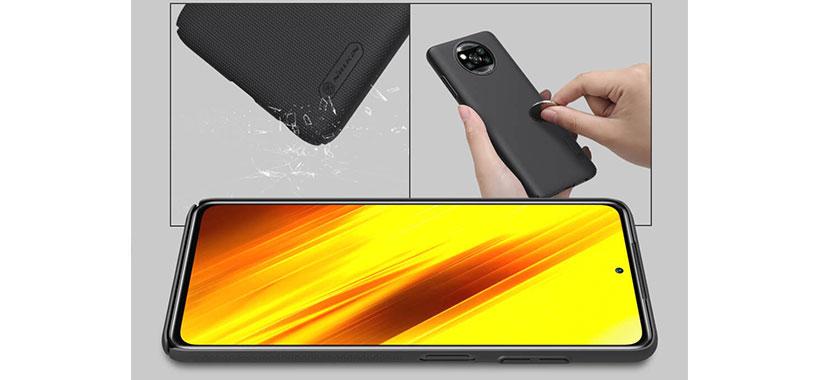 قاب فراستد ویژه گوشی شیائومی Poco X3 NFC