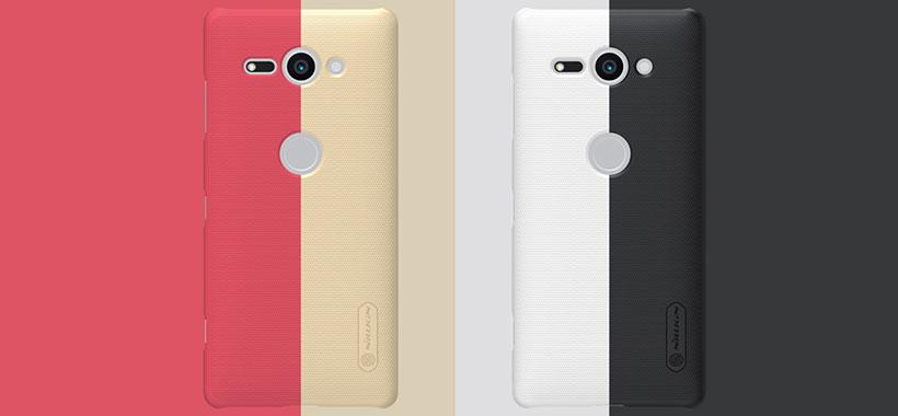 قاب محافظ نیلکین سونی Nillkin Frosted Shield Case Sony Xperia XZ2 Compact