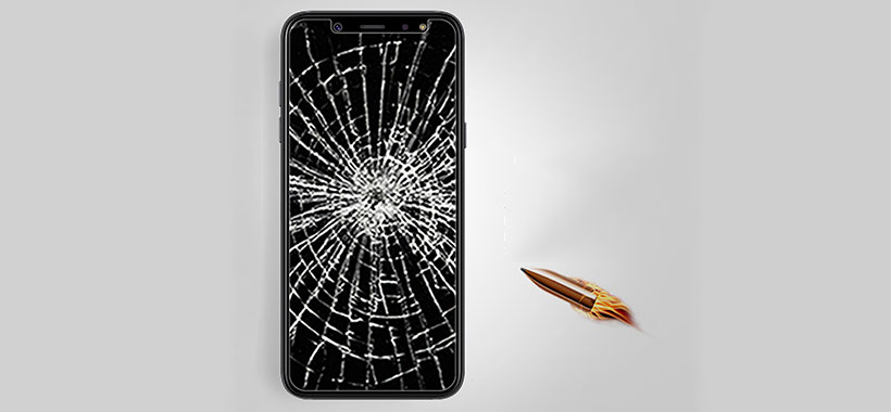 گلس H+ Pro گوشی موبایل سامسونگ A6
