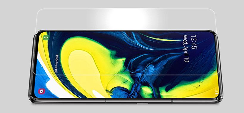 محافظ صفحه شیشه ای سامسونگ A80/A90