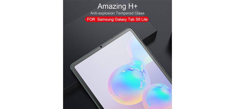 محافظ صفحه نمایش شیشه ای نیلکین Amazing H Plus برای Galaxy Tab S6 Lite