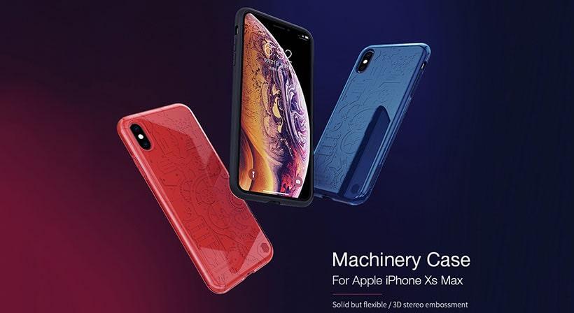 قاب سیلیکونی نیلکین iPhone XS Max