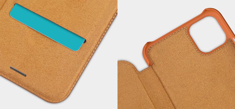 کیف چرمی Qin نیلکین آیفون 11 Pro