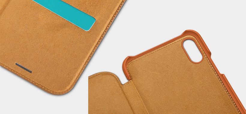 کیف چرمی نیلکین از سری Qin