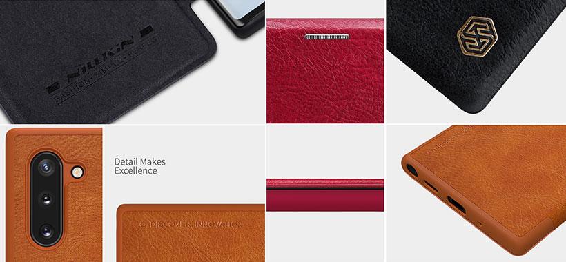 کیف چرمی نیلکین سامسونگ Note 10