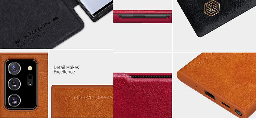 کیف چرمی نیلکین سامسونگ Note 20 Ultra