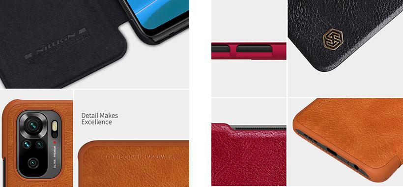 کیف چرمی نیلکینشیائومی Redmi Note 10 4G