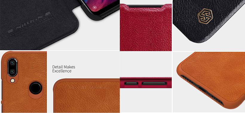 کیف چرمی نیلکین شیائومی Redmi Note 7