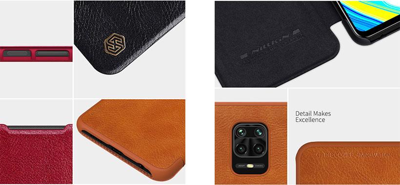 کیف چرمی نیلکین شیائومی ردمی Redmi Note 9 Pro/9 Pro Max/9S