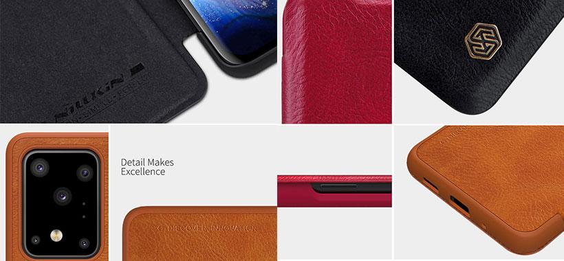 کیف چرمی نیلکین سامسونگ S20 Ultra/S20 Ultra 5G