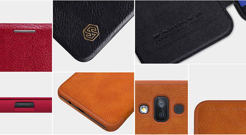 کیف چرمی نیلکین سامسونگ Galaxy J7 Duo