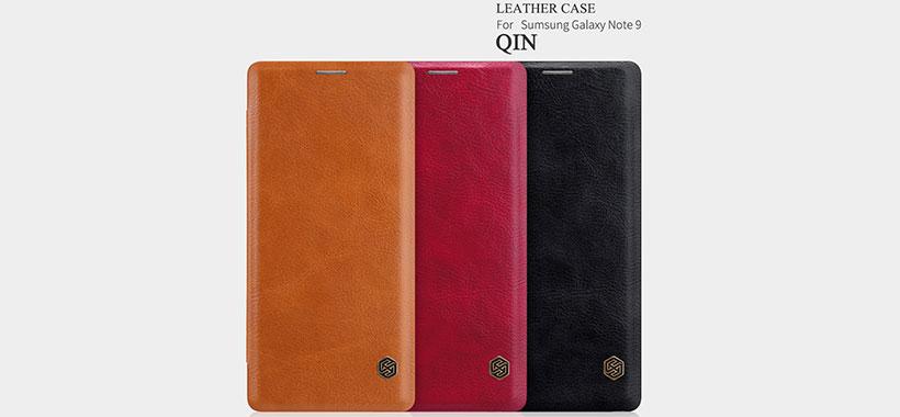 کیف چرمی نیلکین سامسونگ Note 9