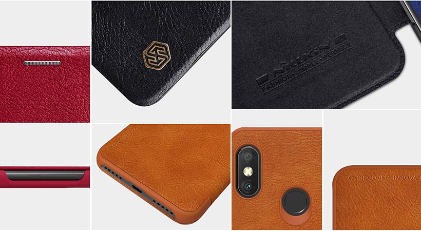 کیف چرمی نیلکین Redmi 6 Pro