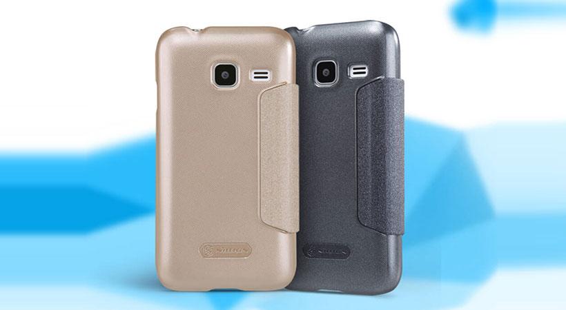 کیف نیلکین سامسونگ Nillkin Sparkle Case Samsung Galaxy J1 Mini