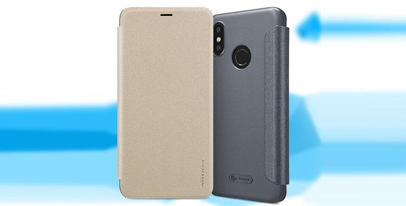 کیف نیلکین شیائومی Nillkin Sparkle Leather Case Xiaomi Mi 8