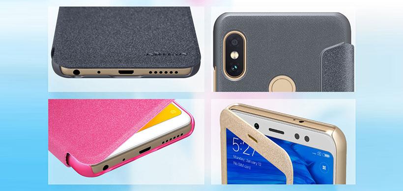 کیف نیلکین شیائومی Nillkin Sparkle Case Xiaomi Redmi Note 5 Pro