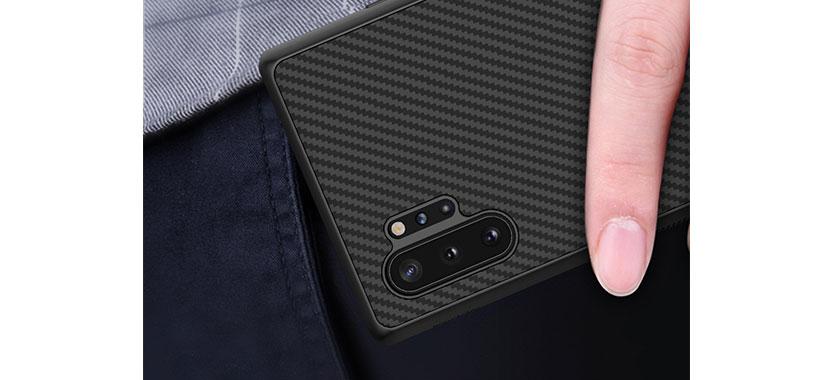 قاب نیلکین مدل Synthetic Fiber گوشی سامسونگ Note 10 plus