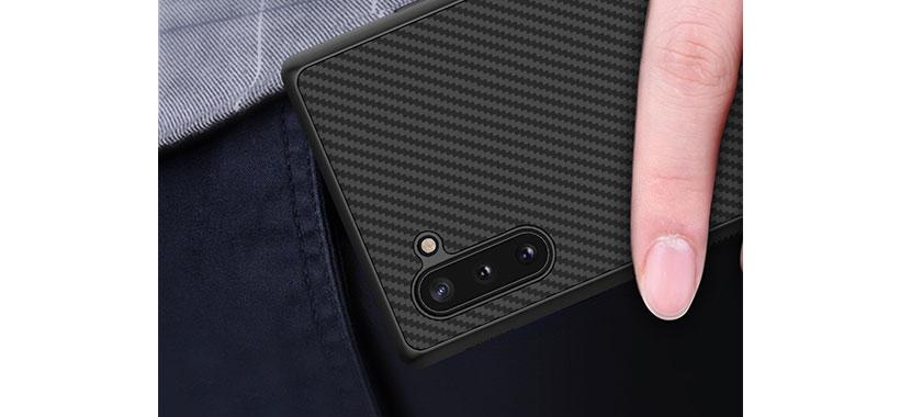قاب نیلکین مدل Synthetic Fiber گوشی سامسونگ Note 10