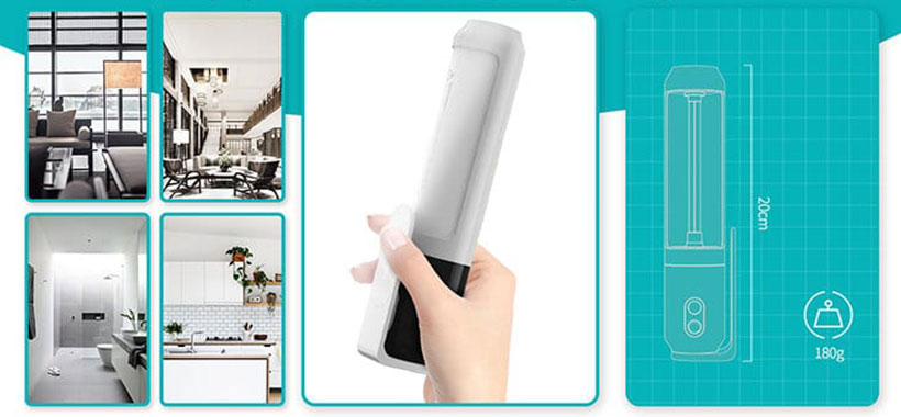 لامپ ضدعفونی کننده قابل حمل هوشمند نیلکین U80