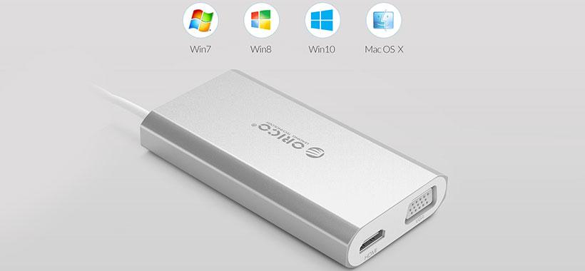 سازگاری بالای هاب USB اوریکو
