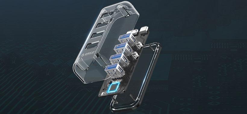هاب USB اوریکو با 4 پورت